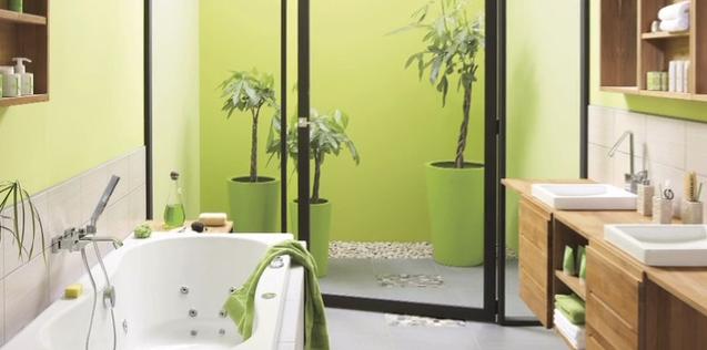 Salle de bains originale