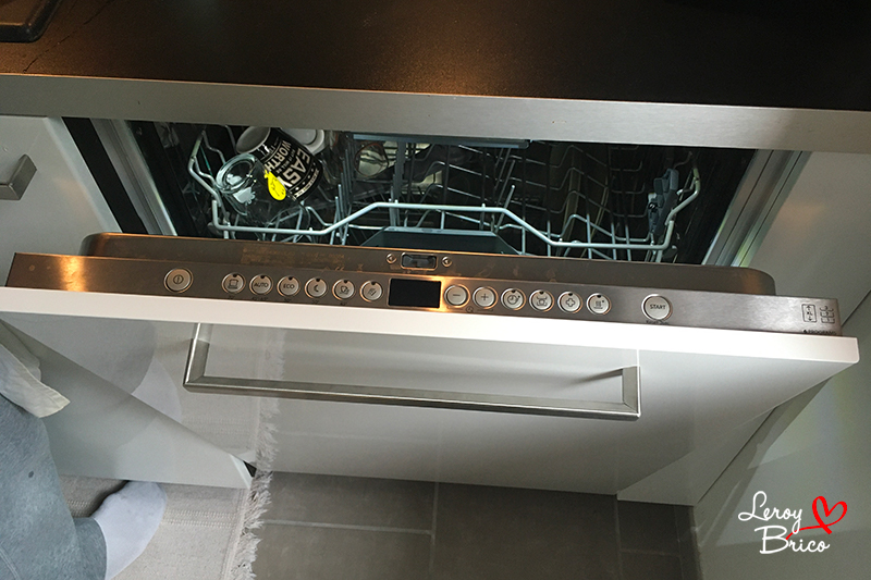 ouverture auto lave-vaisselle