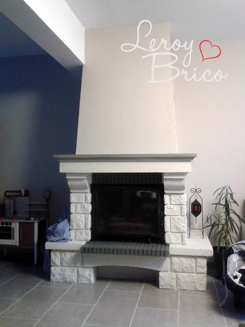 Peindre Poutres Anciennes Blanc repeindre une cheminée ancienne