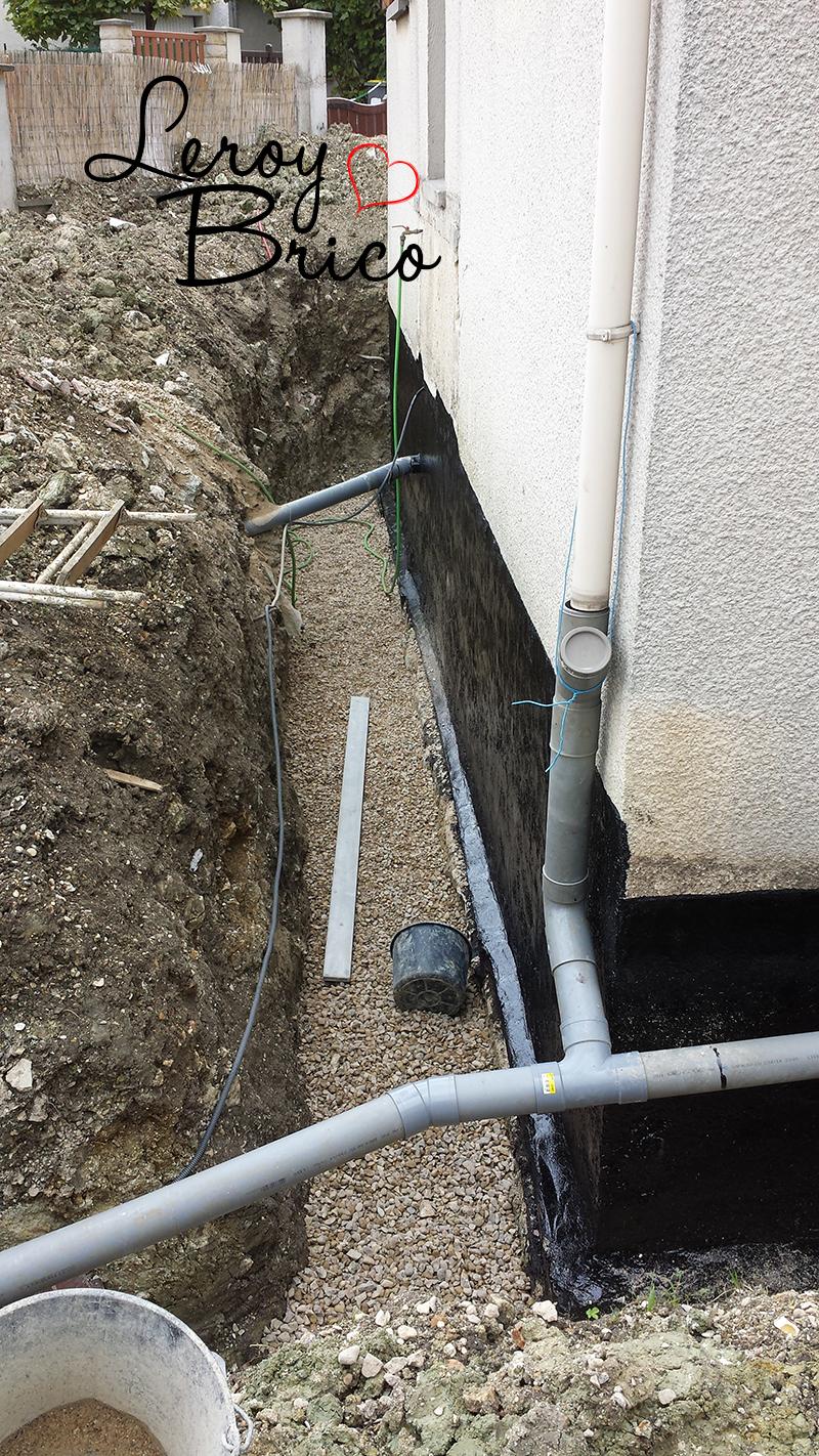 Gravier Autour De La Maison refaire le drain de sa maison soi-même pour arrêter les