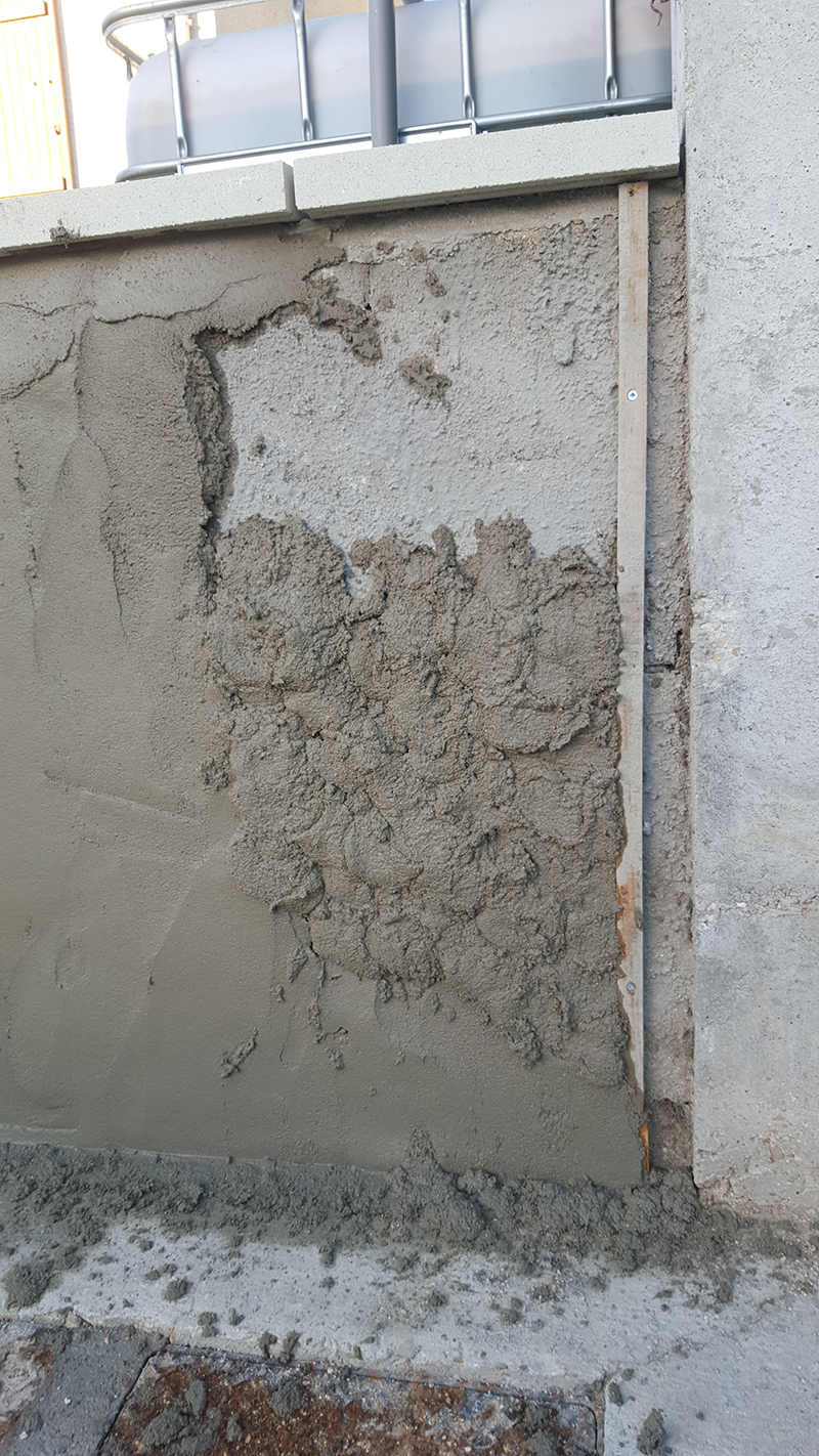 Enduit Blanc Mur Exterieur comment faire un enduit ciment ?